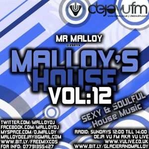 MALLOY'S HOUSE VOL 12 - SEXY SOULFUL HOUSE