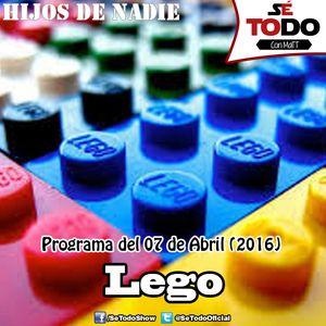 Sé Todo con MaTT #125 - 2016/04/07 - Hablemos de Lego