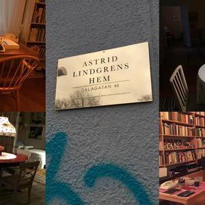 Live från Astrid Lindgrens lägenhet på Dalagatan 46