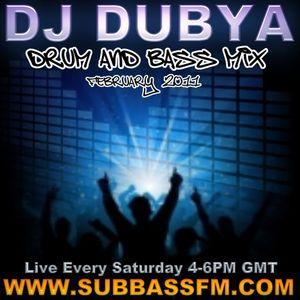 DJ_Dubya February'11' DnB mix