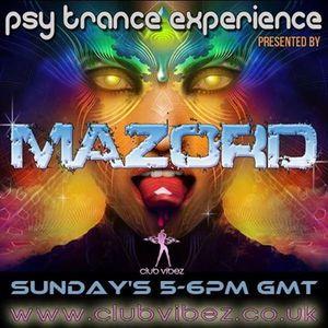 Psy Trance Experience presented by Mazord 23/03/14 @ Clubvibez Radio