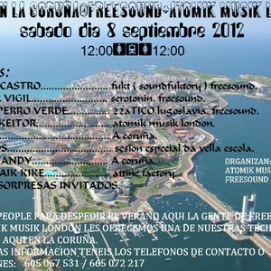 LOREN CASTRO 55 TECHNO PROMO RAVE EN CORUÑA FREESOUND+ATOMIK MUSIK LONDON.