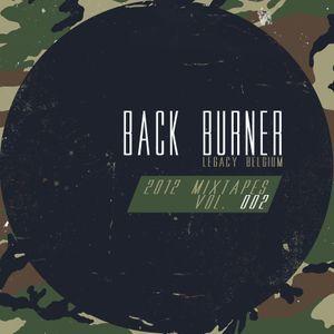 Back Burner - 2012 Mixtapes Vol. 002
