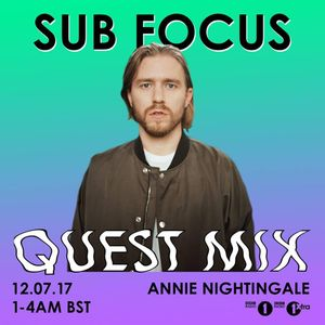 Sub Focus - BBC Radio 1 - Quest Mix (12-7-2017) by The Rave