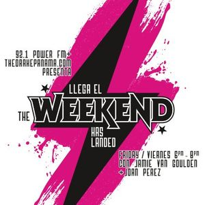 The Weekend Has Landed 15/6/12 with Jamie Van Goulden feat Johnny Omega & Discokillah