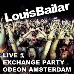 Louis Bailar Live @ Exchange Party Odeon Amsterdam (01-03-2014)