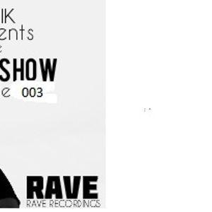 Dj Rik Rave Show -003 (26.03.14)