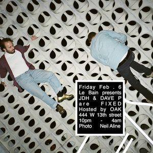 JDH & DaveP- Live at Le Bain- Feb 6,2015 Part 2