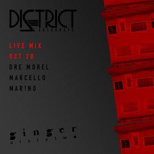 Morel, Marcello, Mar!no DI2TRICT Oct. 20