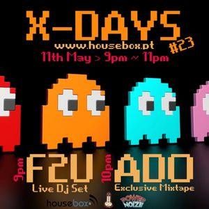 X-DAYS Radioshow! #23 - Ado