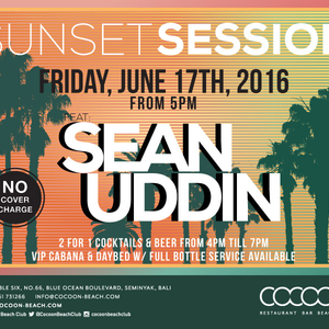 SUNSET SESSION LIVE AT COCOON