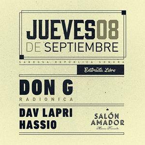 Hassio COL @ Salon Amador 8 septiembre 2016