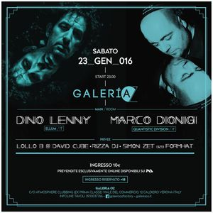 David Cube b2b Lollo_B + Rizza dj - WaveSound @ Galeria OZ - 23.01.2016