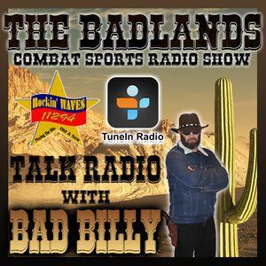 The Badlands Combat Sports Radio Show - Guy Mezger Interview