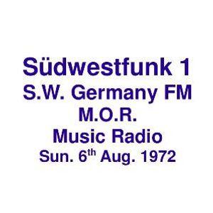 SüdWestFunk FM =>>  Easy Listening Music from South West German Radio  <<= Sun. 6th Aug. 1972
