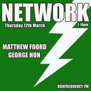NETWORK #26 Matthew Foord