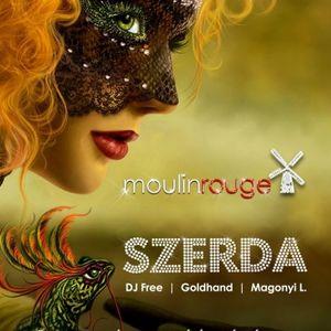 Dj Free & Magonyi L - Live @ Moulin Rouge Budapest Wednesday Night 2012.05.09.