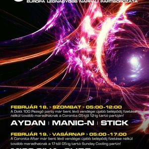 Aydan, ManicN, Stick - Coronita Live (2012 02 18)