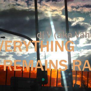 DJ V (aka Vahé) - Everything Remains Raw