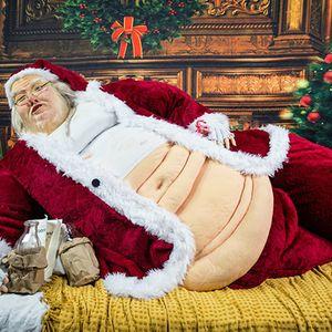 Santa drops by Will Roberts Weekly Telegram Radio  & says Miley Cyrus got coal