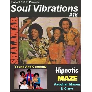 Soul Vibrations  25.04.2016 on Radio T.S.O.P by Bert H.