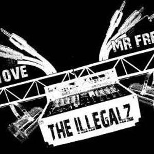 The Illegalz' Trouble 'n bass mixtape