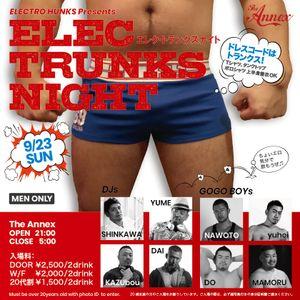 20180923 DJ DAI ELEC TRUNKS NIGHT vol.2 LIVE REC!!