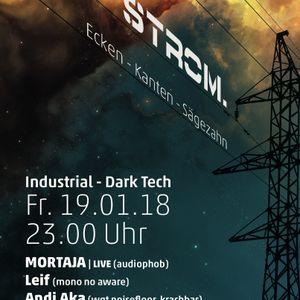 Andi Aka @Strom. 2018-01-19 Bochum, Projekt-X (Part 2/4)