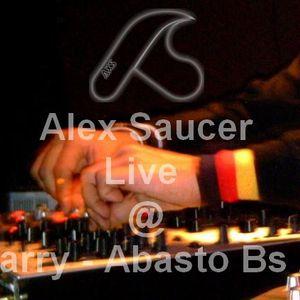 Alex Saucer Live @ Quarry Abasto Buenos Aires 06