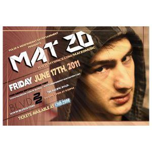 Zero D - LIVE @ BLVD22 - Opening Set for Mat Zo - [June 17th, 2011]