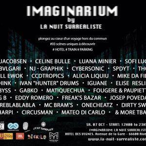 NP.THINK @ IMAGINARIUM by La Nuit Surrealiste 07/10/2017 REEDIT