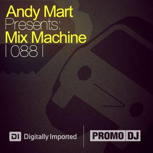 Andy Mart - Mix Machine@DI.FM 088