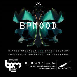 Nicole Moudaber b2b Chris Liebing - Live @ Mood Showcase, Blue Parrot BPM 2017