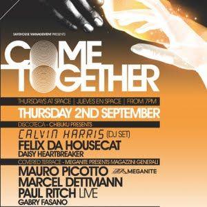 Gabry Fasano Live @ Come Together,Space Ibiza (02.09.2010)