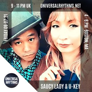 Saucy Lady & U-KEY - The Green Room 9.7.21 Episode 6
