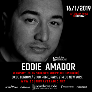 AfterDark House with kLEMENZ: guest EDDIE AMADOR (16.1.2019)