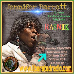 Jennifer Barrett..Interview...Liberated Radio.
