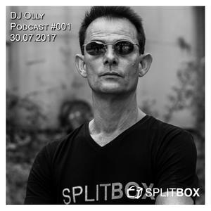 Splitbox Podcast #001 mixed by DJ Olly (30.07.2017)