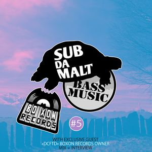 SUBDAMALT Podcast #06 - Dubstep Session - mixed by M. Burns