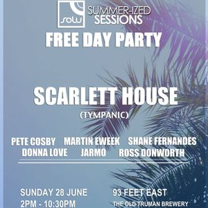 Scarlett House ::SOLU 151::  SOLU & Summer-ized Sessions Free Daytime Party Promo Mix
