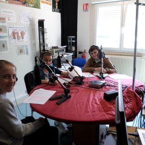 Emission de l'atelier radio collège J.Moulin : les travaux de Chamiers