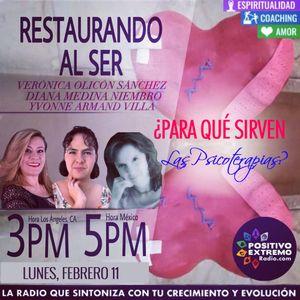 RESTAURANDO AL SER-02-11-19-PARA QUE SIRVEN LAS PSICOTERAPIAS