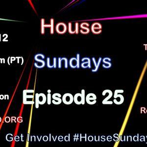 House Sundays: Episode 25 Aug 5 2012 (top 50 house 2012)
