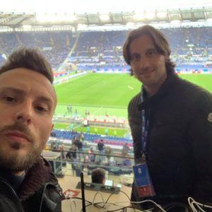 Atalanta Lazio finale Baldini e Mauri Olimpico 15052019