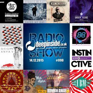 DEEPINSIDE RADIO SHOW 090 (Purple Disco Machine Artist of the week)