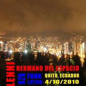 Dj Lenni & Hermano del Espacio_B2B en Ecuador_2010