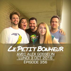 LPB #356 - Alex Gosselin - Lun - Chat radioactif vs. chien extraterrestre et concours de talent