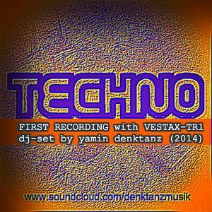 my first hour with the vestax tr-1 (techno dj set by yamin denktanz