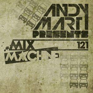 Andy Mart - Mix Machine@DI.FM 121