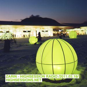 Highsession Radio Show (2011.02.18)